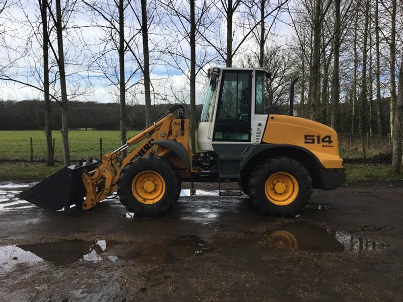 2011 LIEBHERR 514 STEREO WHEEL LOADER WITH 5100 HOURS