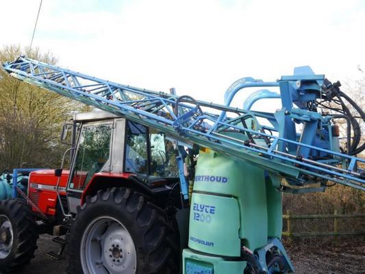 Berthoud  Elyte 1200 Sprayer