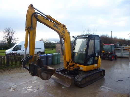 JCB  8060ZTS TRACKED DIGGER