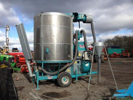 Прочие used corn drier ESMA 13.5 tonnes sechoir mobile d'occasion