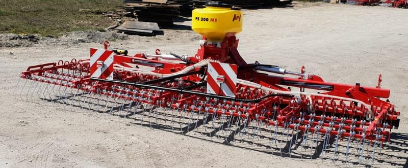 Awemak Weeder harrow  THOR BC 60 with pneumatic seed drill APV PS200 M1!