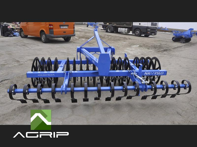 Cultivation roller Front Packer  Rullo di coltivazione Front Packer / Front Ackerwalzen