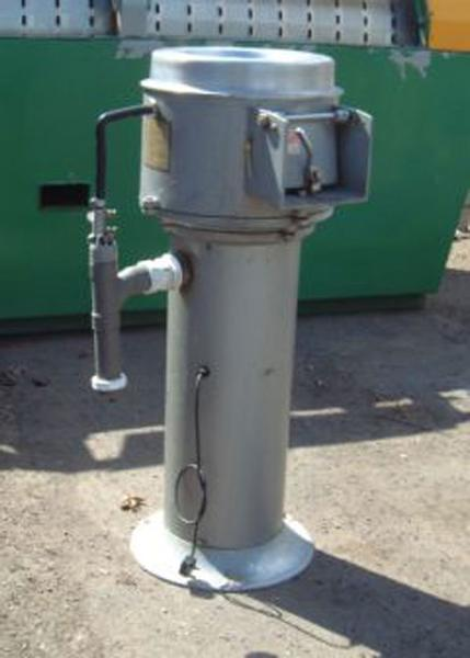 Metcalfe batch peeler / rumbler. Single phase motor