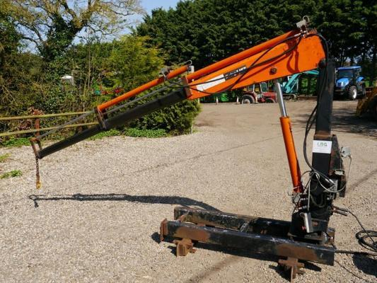 Swing Lift 20/4D Mini Hydraulic Crane/Hiab/Trailer Crane