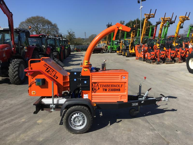 Timberwolf TW230 DHB Wood Chipper (ST4379)