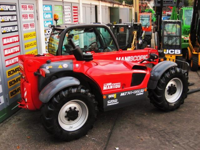 Manitou Manitou MLT 741 - 120 LSU TURBO POWERSHIFT - 40 km/h