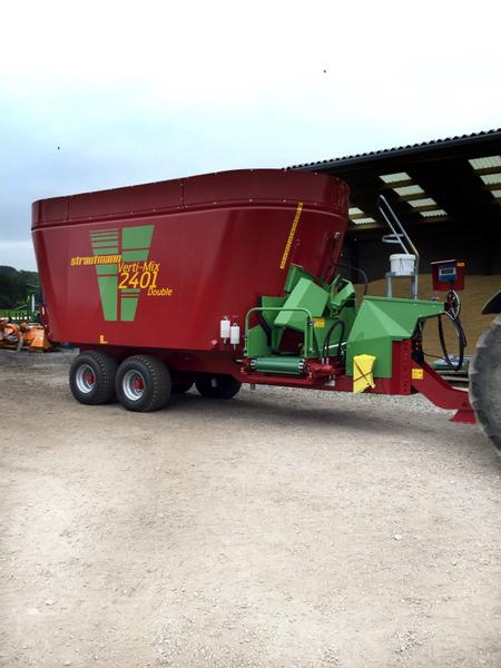 Strautmann Twin Auger Diet Feeders