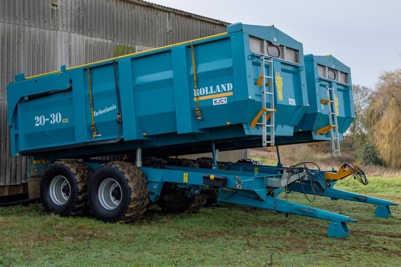 Rolland Turbo Classic 20-30 16t trailer ***NOW SOLD***