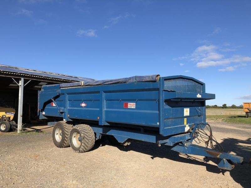 AS Marston Fenlander 14t trailer