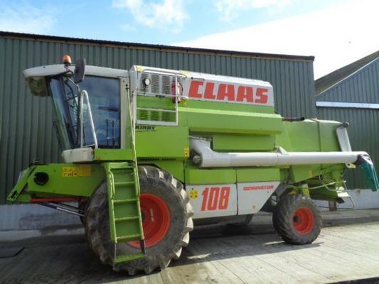 Claas Used  108VX Dominator Combine