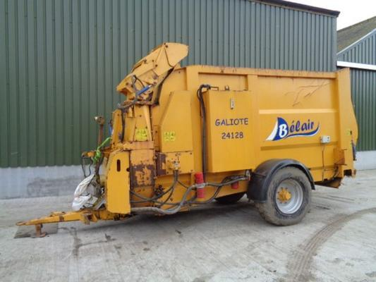 Used Belair Galiote 24128 Bale Chopper/Blower
