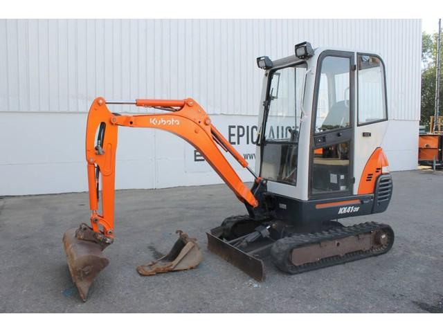 Kubota KX41-3V Mini Graafmachine